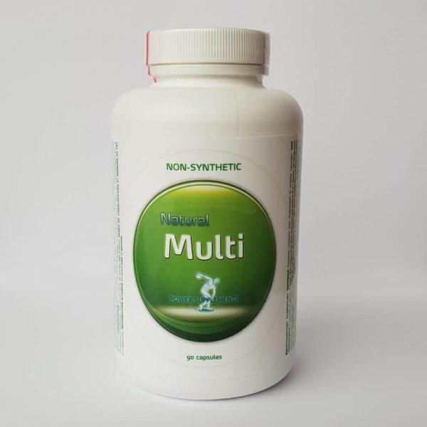 Natural Multi natuurlijke mineralen vitamines biologische multivitamine