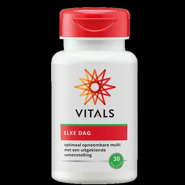Elke Dag 30 tabletten multivitaminen mineralen natuurlijk Vitals