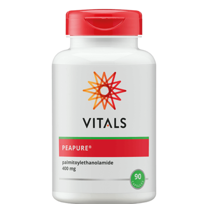 PeaPure 90 capsules PEA Palmitoylethanomide Vitals