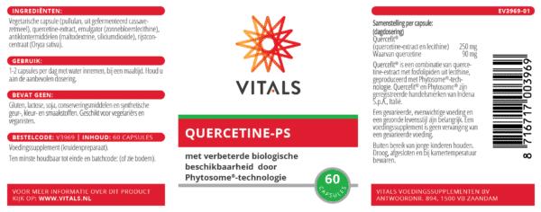 Quercetine PS 60 capsules